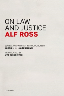 On Law and Justice, Hardback Book