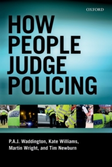 How People Judge Policing, Paperback Book