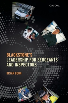 Leadership for Sergeants and Inspectors, Paperback Book