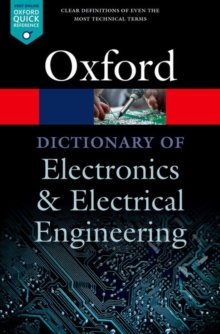 A Dictionary of Electronics and Electrical Engineering, Paperback / softback Book