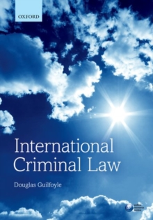 International Criminal Law, Paperback Book