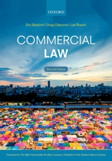 Commercial Law, Paperback Book