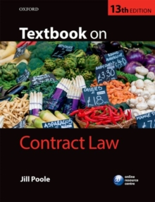 Textbook on Contract Law, Paperback Book