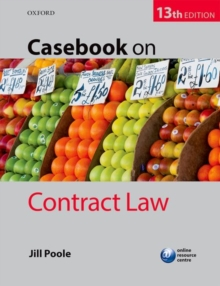 Casebook on Contract Law, Paperback Book