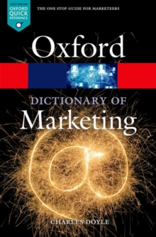 A Dictionary of Marketing, Paperback / softback Book