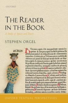 The Reader in the Book : A Study of Spaces and Traces, Hardback Book