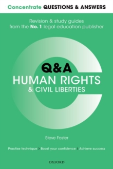 Concentrate Questions and Answers Human Rights and Civil Liberties : Law Q&A Revision and Study Guide, Paperback Book