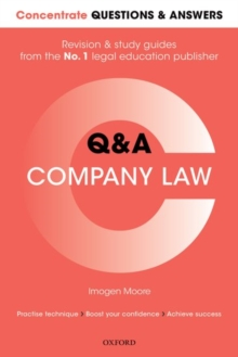 Concentrate Questions and Answers Company Law : Law Q&A Revision and Study Guide, Paperback Book