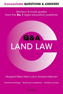 Concentrate Questions and Answers Land Law : Law Q&A Revision and Study Guide, Paperback Book