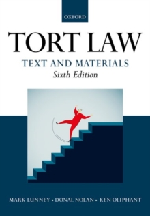 Tort Law: Text and Materials, Paperback Book