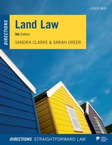 Land Law Directions, Paperback Book