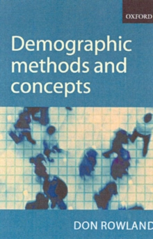 Demographic Methods and Concepts, Paperback / softback Book
