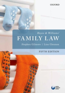 Hayes & Williams' Family Law, Paperback / softback Book