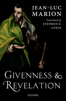 Givenness and Revelation, Hardback Book