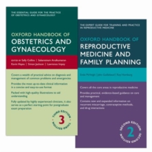 Oxford Handbook of Obstetrics and Gynaecology and Oxford Handbook of Reproductive Medicine and Family Planning Pack, Multiple copy pack Book