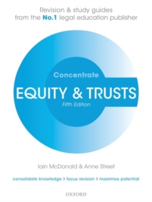 Equity & Trusts Concentrate : Law Revision and Study Guide, Paperback Book