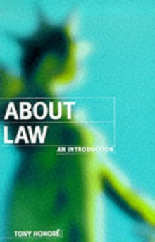 About Law: An Introduction, Paperback / softback Book