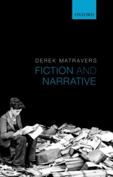 Fiction and Narrative, Paperback Book