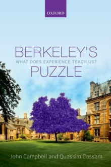 Berkeley's Puzzle : What Does Experience Teach Us?, Paperback Book