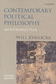 Contemporary Political Philosophy : An Introduction, Paperback / softback Book