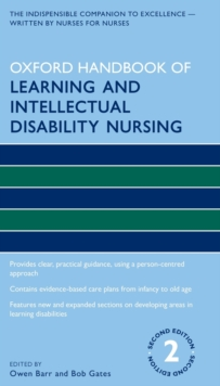 Oxford Handbook of Learning and Intellectual Disability Nursing, Paperback / softback Book