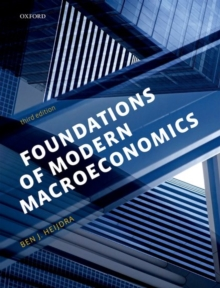 Foundations of Modern Macroeconomics, Paperback Book