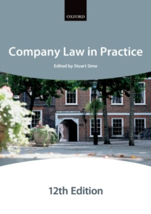 Company Law in Practice, Paperback Book