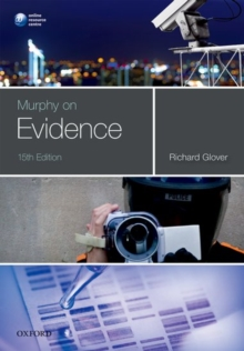 Murphy on Evidence, Paperback / softback Book