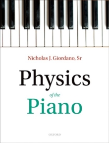 Physics of the Piano, Paperback / softback Book