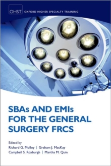 SBAs and EMIs for the General Surgery FRCS, Paperback / softback Book