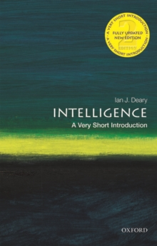 Intelligence: A Very Short Introduction, Paperback / softback Book