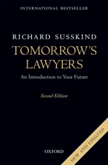 Tomorrow's Lawyers : An Introduction to Your Future, Paperback Book