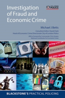 Investigation of Fraud and Economic Crime, Paperback / softback Book