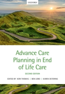 Advance Care Planning in End of Life Care, Paperback Book