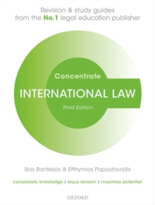 International Law Concentrate : Law Revision and Study Guide, Paperback / softback Book