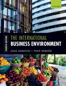 The International Business Environment, Paperback / softback Book
