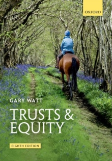 Trusts & Equity, Paperback / softback Book