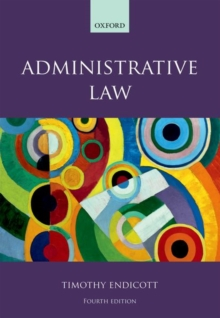 Administrative Law, Paperback / softback Book