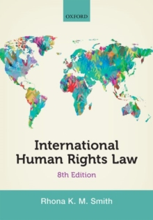 International Human Rights Law, Paperback Book