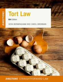 Tort Law Directions, Paperback / softback Book
