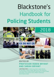 Blackstone's Handbook for Policing Students 2018, Paperback Book