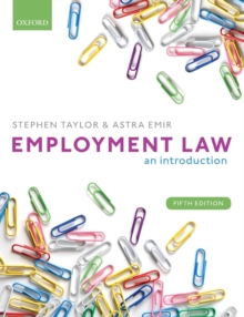 Employment Law : An Introduction, Paperback / softback Book
