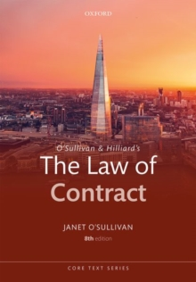 O'Sullivan & Hilliard's The Law of Contract, Paperback Book