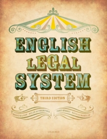 English Legal System, Paperback Book