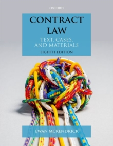 Contract Law : Text, Cases, and Materials, Paperback Book