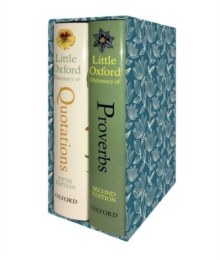 The Little Oxford Gift Box : Little Oxford Dictionary of Quotations; Little Oxford Dictionary of Proverbs, Multiple copy pack Book