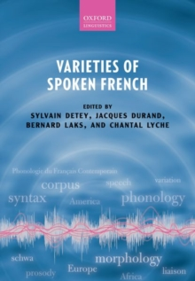Varieties of Spoken French, Paperback Book