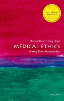 Medical Ethics: A Very Short Introduction, Paperback / softback Book