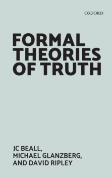 Formal Theories of Truth, Paperback / softback Book