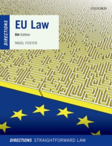 EU Law Directions, Paperback / softback Book